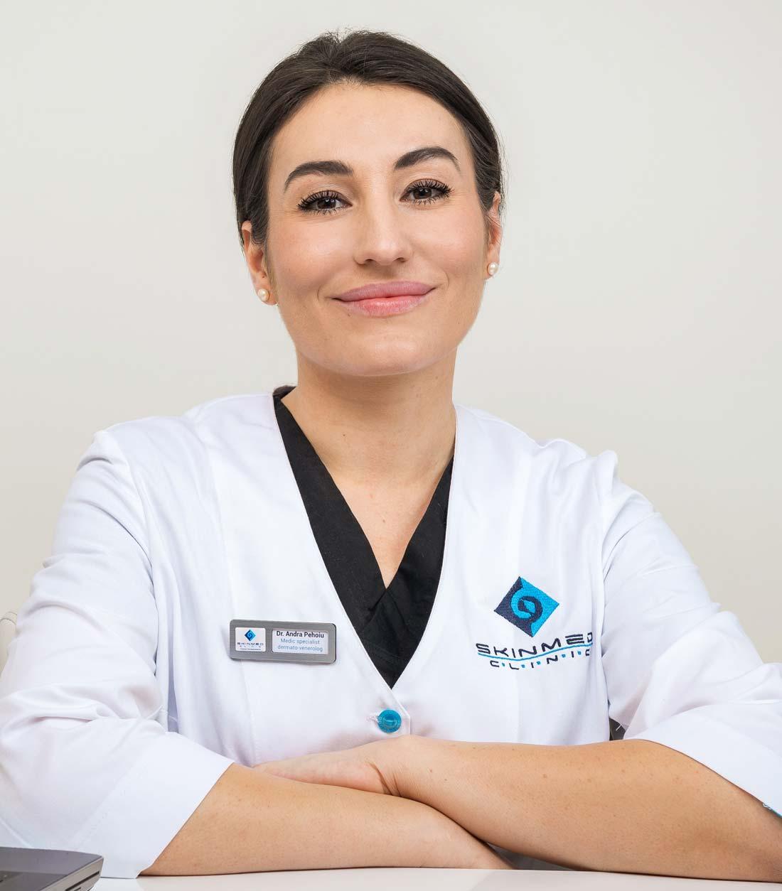 doctor andra pehoiu Medic Specialist Dermatovenerologie - skinmed