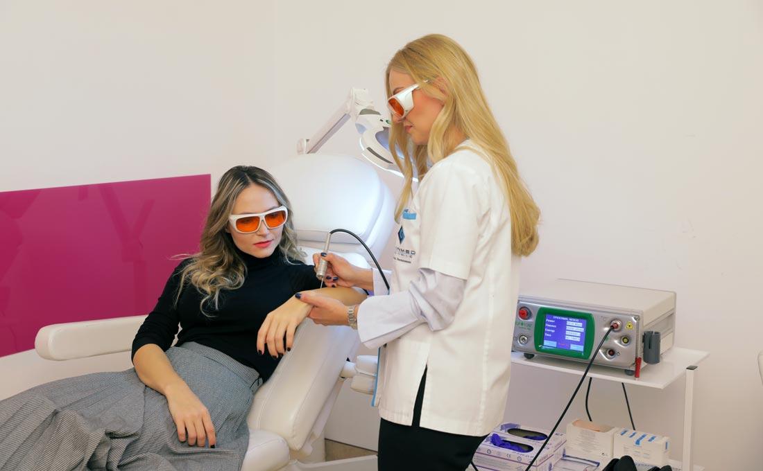 tratament laser - lasermar 500 eufoton - skinmed