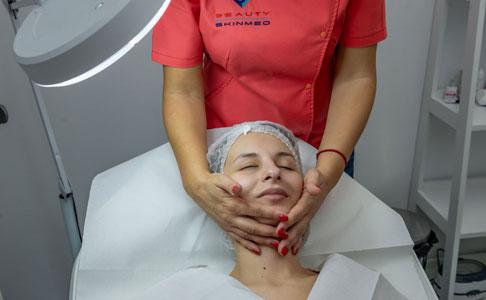 masajul facial - skinmed